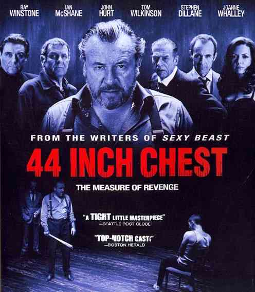 44 INCH CHEST BY WINSTONE,RAY (Blu-Ray)